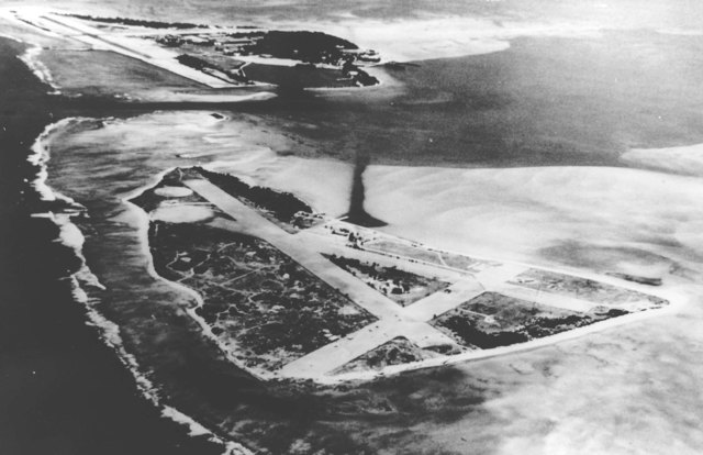 Japan strikes the Midway Atoll