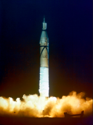 First US Satellite (Explorer I) Launched into Orbit