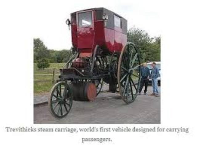 1802 Primeros Taxis A Vapor