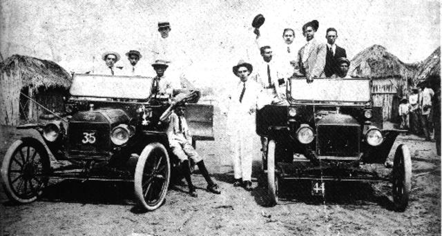 1860 Primer Auto Con Motor A Explosion