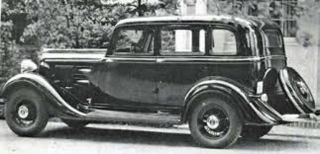 1934 Primer automóvil moderno