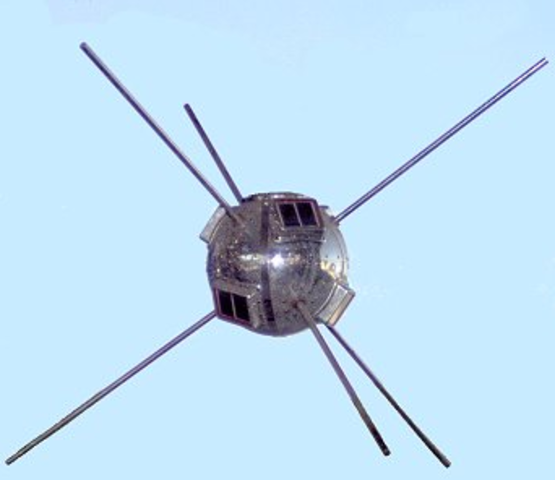 First solar powered satellite Vanguard 1 satellite is launched