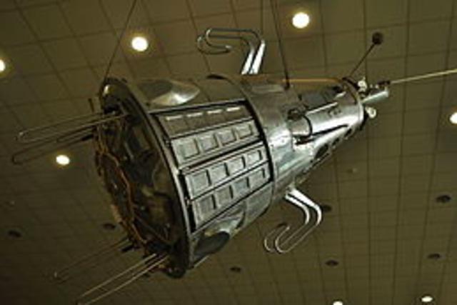 Sputnik 3 is launched