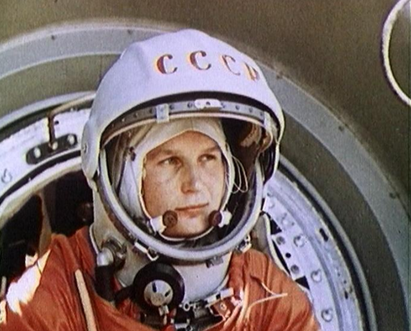 First woman in space: Cosmonaut Valentia Tereshkova