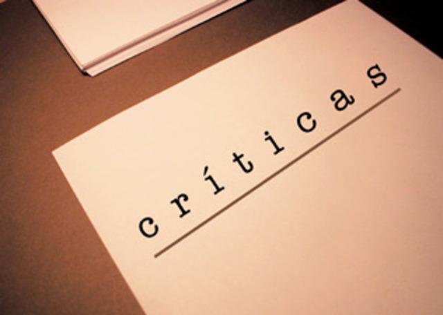 Principales críticas almarketing.