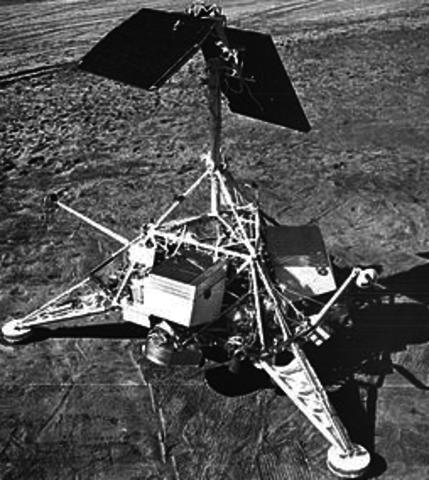 First Lunar Soft Lander: Surveyor 1