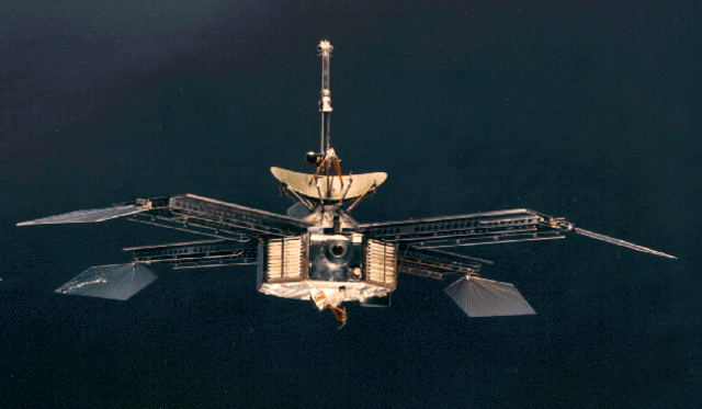 First successful flyby of Mars: Mariner 4