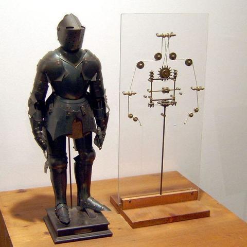 Diseño del primer robot humanoide