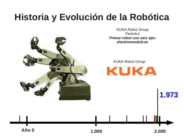 Primer robot con 6 ejes