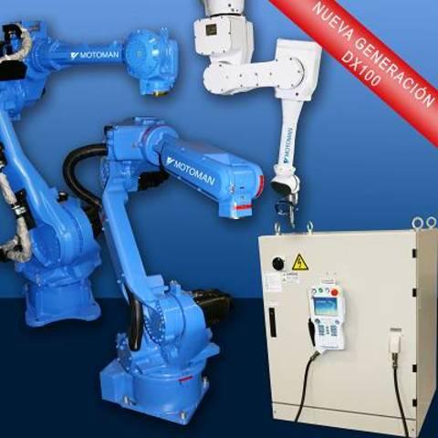Motoman y sus sistemas de control DX100