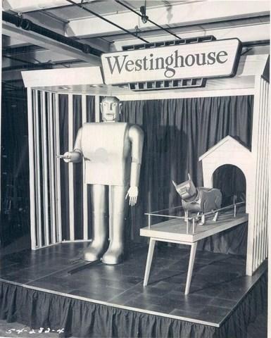 El robot fumador de la Feria Mundial de Nueva York