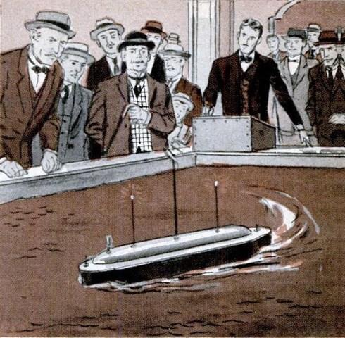 El robot barco de Nikola Tesla