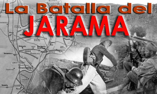 Batalla del Jarama(entre el 6 y el 27 de febrero)