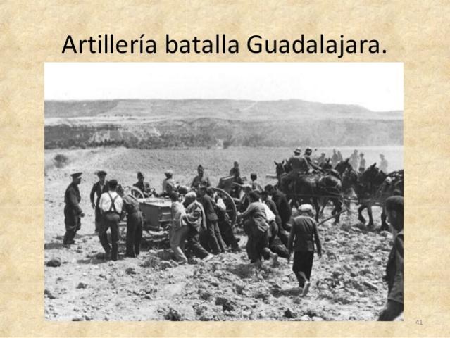 Batalla  de Guadalajara( del 8 al 23 de marzo)