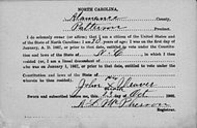 Manhood Suffrage, chap 13
