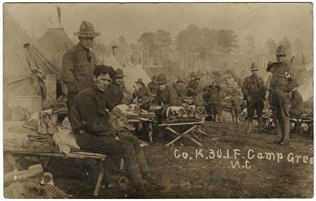Camp Greene, chap 19