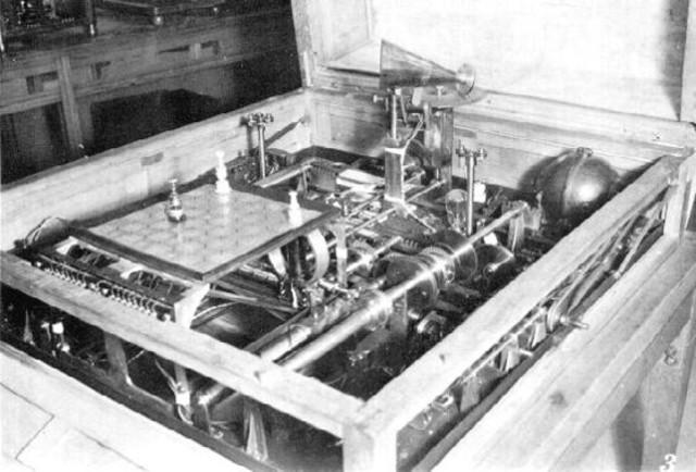 Máquina Capaz de Jugar Ajedrez