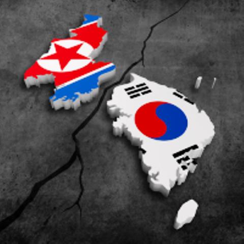 North and South Korea created