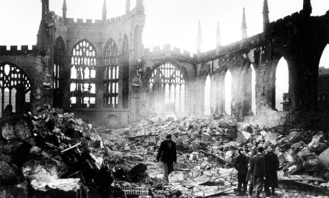 Heaviest period of bombing was between Nov. 1940 and May 1941