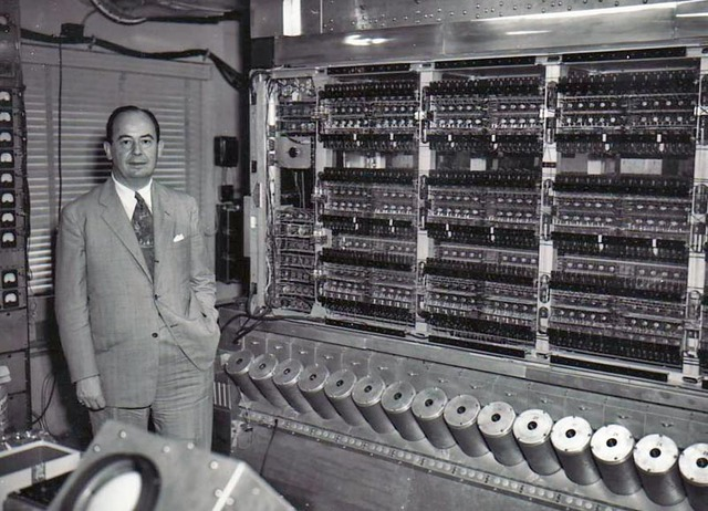 La EDVAC (Electronic Discrete Variable Automatic Computer)