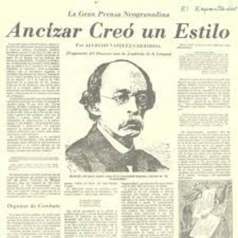 1812 -1882. Manuel Ancízar.(Alpha era el seudónimo de Ancízar), Pensador político, escritor y diplomático,