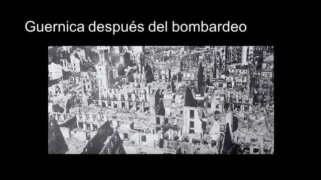 Bombardeo de Guernica(frente norte abril-octubre 1937)