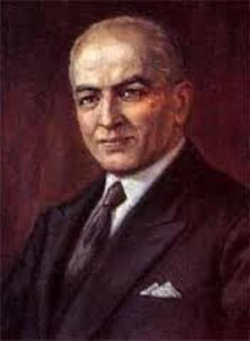 1889-1975. Agustín Nieto Caballero.