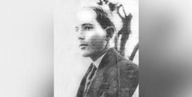 1900- 1917. Wladimiro Woyno. Psicólogo nacido en Rusia. Llegó a Colombia.