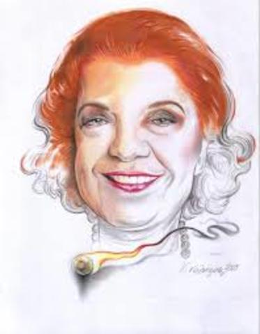 1916-2010. Victoria Bossio.