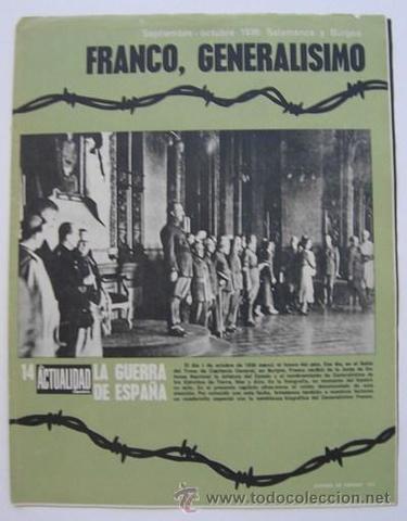 Franco es nombrado Generalísimo