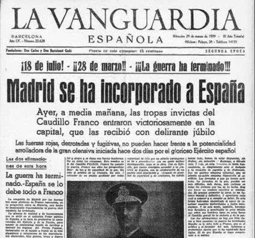 Entrada en Madrid