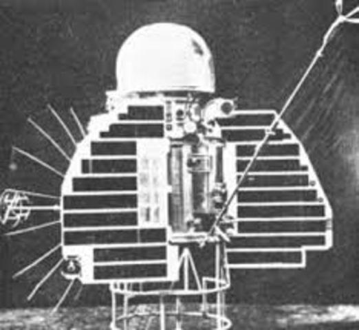 Venera 1 launch