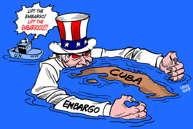 embargo of cuba