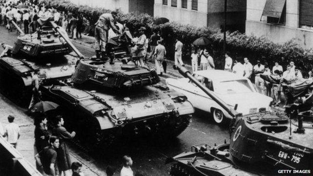 military rule VS Brazil