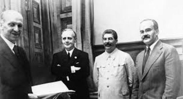 Germany-Soviet Non-Aggression Pact