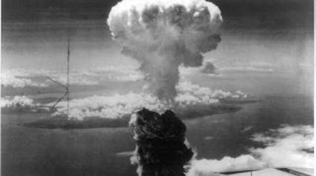 Atomic Bomb on Nagasaki
