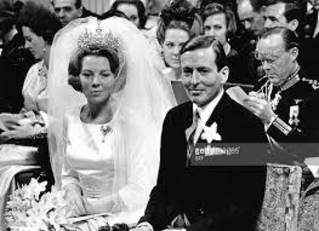 a royal Netherlands wedding