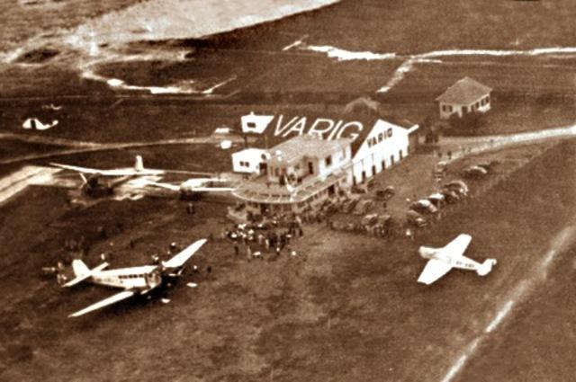 Primeiro tráfego aéreo mútuo trem-carro-avião no Brasil