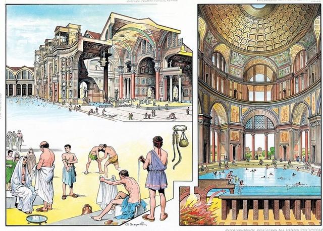 Termas Romanas - Séculos IV e V