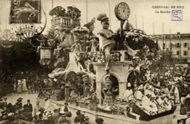 Criação do Comitê de Festas em Nice-FRA