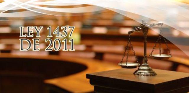 Ley 1437 de 2011