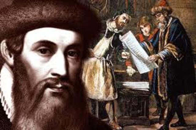 Gutenberg crea la Imprenta