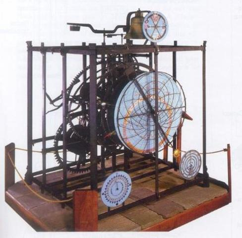 Primer reloj mecánico