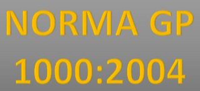 NORMA GP 1000:2004