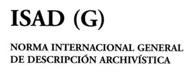 ISAD (G) (General International Standard Archival Description)