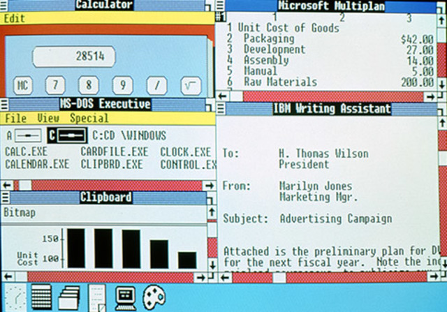 Windows 2.0 – 2.11