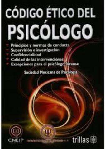 2000 NUEVO CODIGO DE ETICA DEL PSICOLOGO