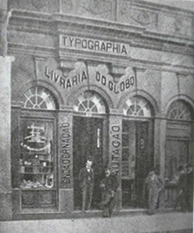 Livraria do Globo - Inauguração