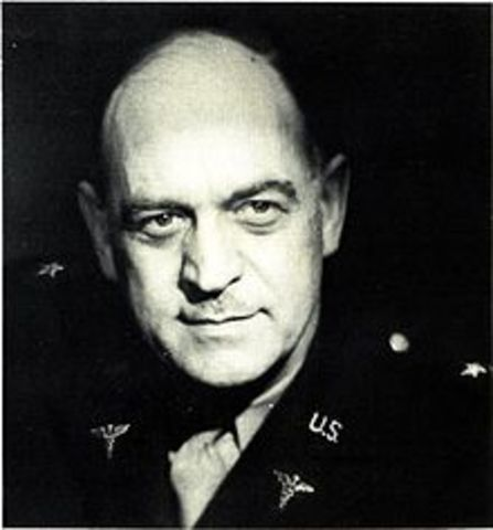 During World War II, . Dr.William Menninger, chief of Army neuropsychiatry, calls for federal action on Mental Health