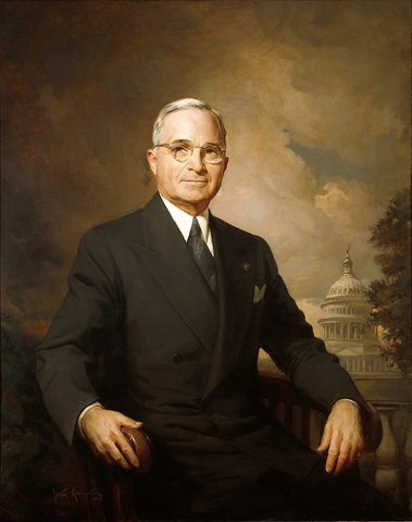 President Truman signed the National Mental Health Act